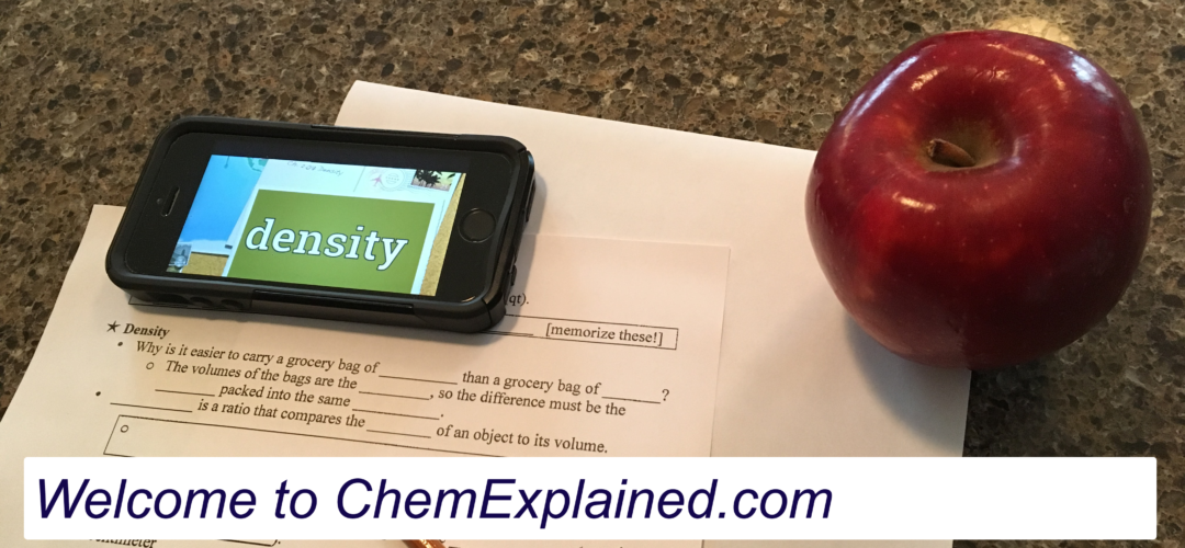 A Homeschool Chemistry Curriculum